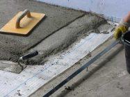 смесь для выравнивания бетонного пола под плитку