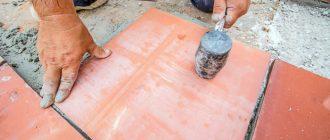 Кафельная плитка на цементный раствор номер состава бетонной смеси
