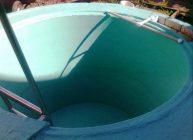 Бассейн из бетонного кольца своими руками