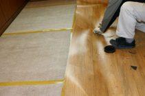 Укладка линолеума на бетонный пол с подложкой