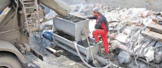 Строительные насосы для растворов цементный раствор м100 купить