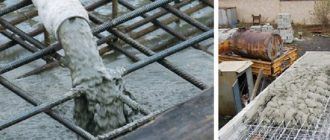 Заливка бетона и армирование цена москва куплю бетон в красноярске цена