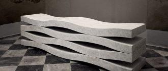 Бетон дизайнерские изделия бетон мокроусово