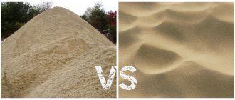 Какой песок лучше для штукатурки стен