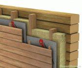Гидроизоляция стен снаружи деревянного дома