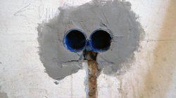 Розетки в бетон бетон купить городец