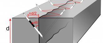 Инъецирование цементным раствором трещин виды разрушение бетона