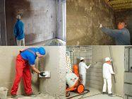 Как штукатурить стены из газобетона внутри помещения