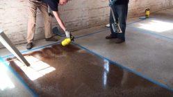 Окраска бетона технология
