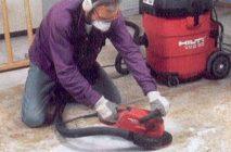 Как снять слой бетона с пола
